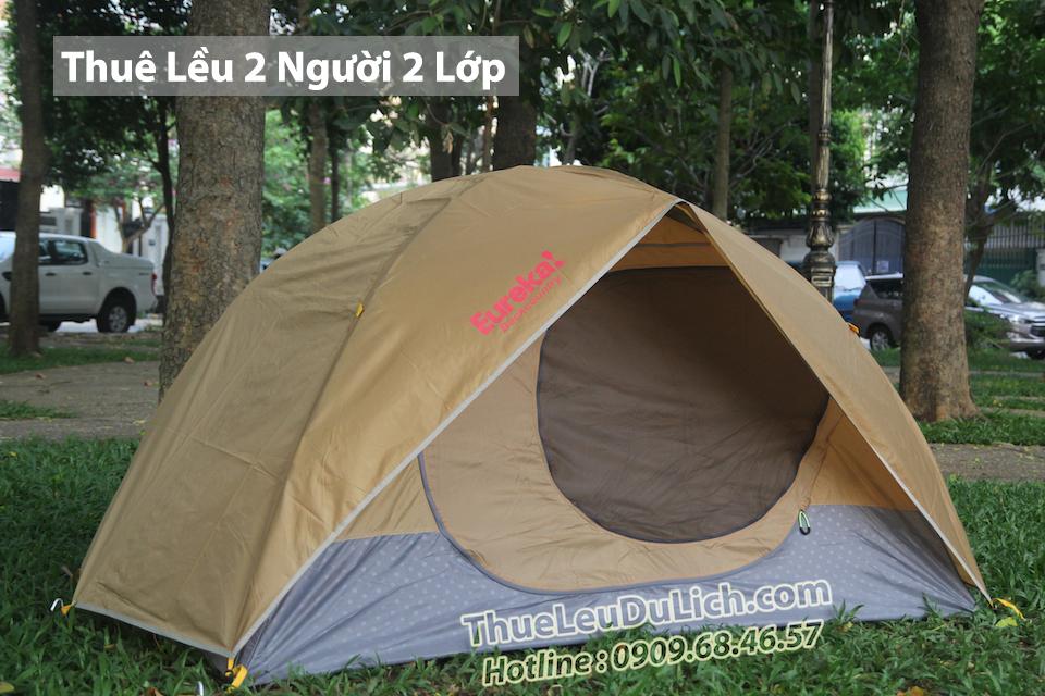 Thuê lều cắm trại 2 người eureka