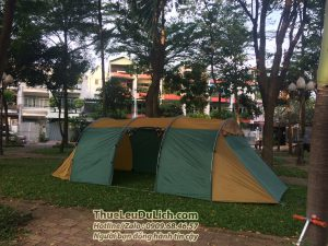 thuê lều cắm trại 20 người