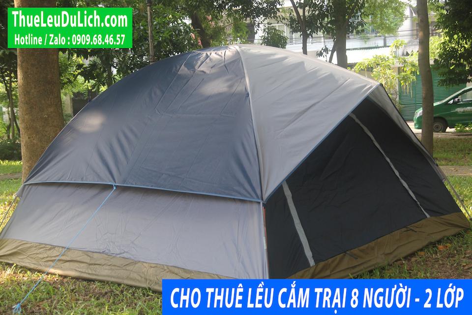 thuê lều cắm trại 8 người