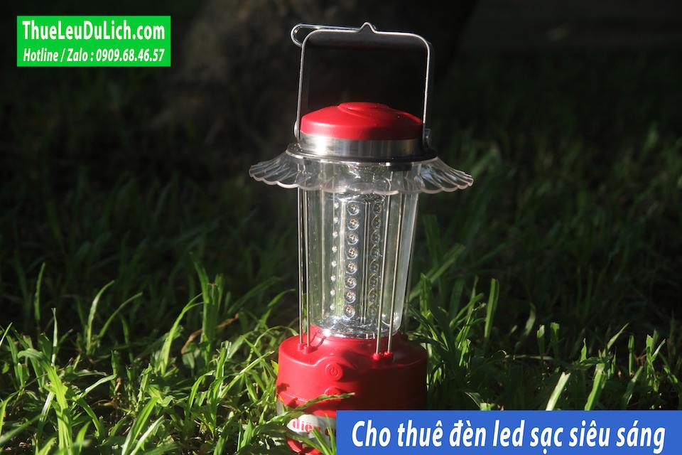 thuê đèn led sạc siêu sáng